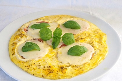 Eier - Tomaten - Mozarella - Pfanne 5
