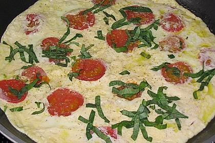 Eier - Tomaten - Mozarella - Pfanne 10
