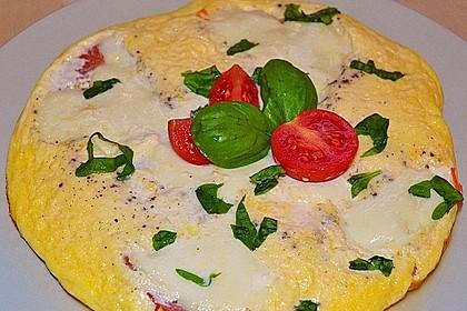 Eier - Tomaten - Mozarella - Pfanne 7