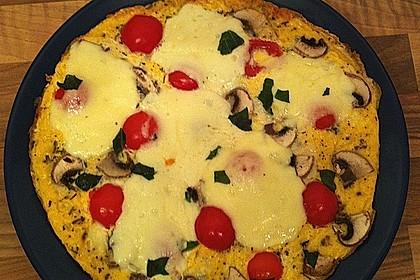 Eier - Tomaten - Mozarella - Pfanne 12