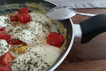 Eier - Tomaten - Mozarella - Pfanne 17