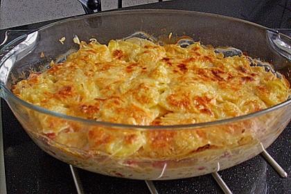 Kartoffelauflauf mit Mais und Paprika 9