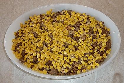 Kartoffelauflauf mit Mais und Paprika 22