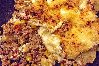 Kartoffelauflauf mit Mais und Paprika 28