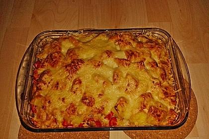 Kartoffelauflauf mit Mais und Paprika 6