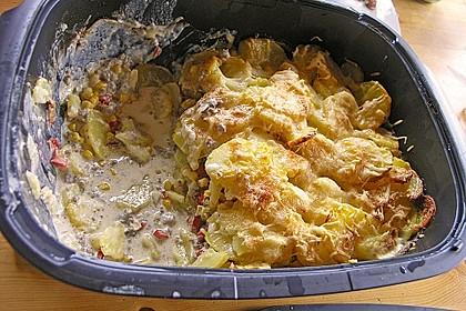Kartoffelauflauf mit Mais und Paprika 30