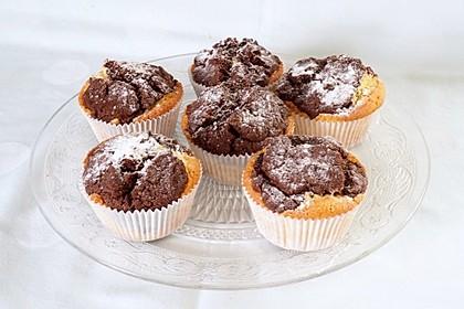 Marmorierte Muffins 15