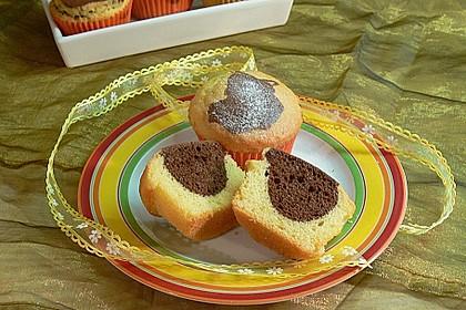 Marmorierte Muffins 3