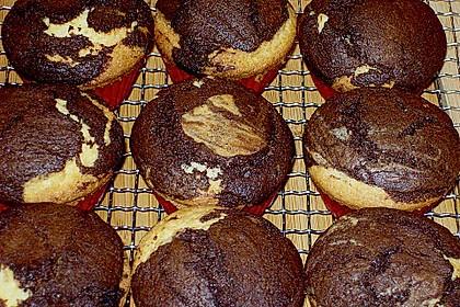 Marmorierte Muffins 22