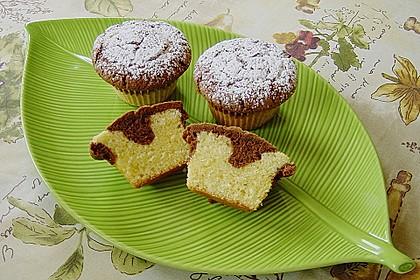 Marmorierte Muffins 12