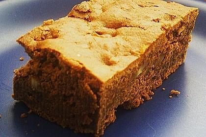 Herbstliche Brownies (Bild)