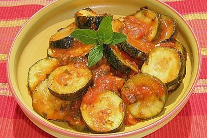 Zucchini - Tomaten - Gemüse 10