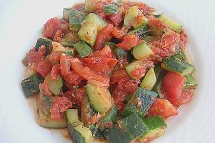 Zucchini - Tomaten - Gemüse 23