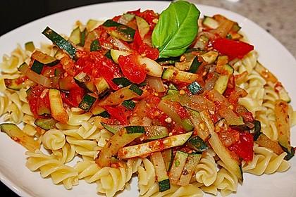 Zucchini - Tomaten - Gemüse 5