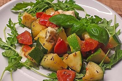 Zucchini - Tomaten - Gemüse