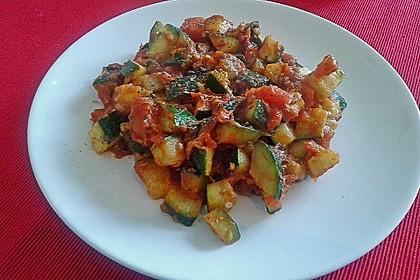 Zucchini - Tomaten - Gemüse 13