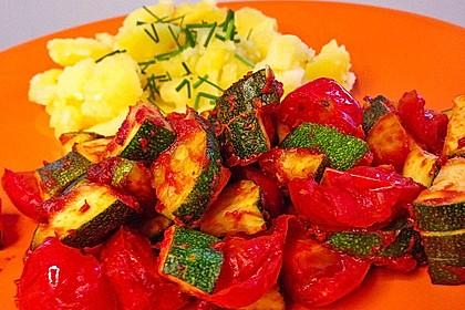 Zucchini - Tomaten - Gemüse 6