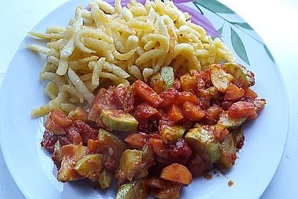Zucchini - Tomaten - Gemüse 18
