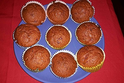 Rote Bete - Muffins 2