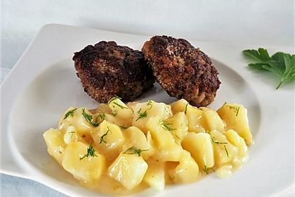 Saueres Kartoffelgemüse