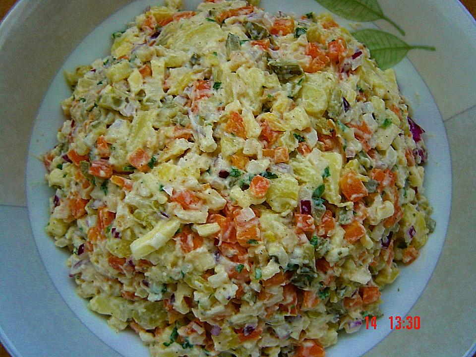 Gemüse Kartoffel Salat Von Brisane Chefkoch