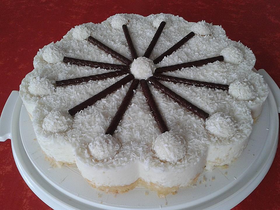 Raffaello Torte Ein Sehr Leckeres Rezept Chefkoch De