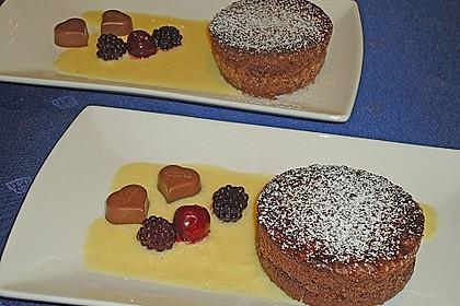 Schokoladenküchlein mit geschmolzenem Kern 3