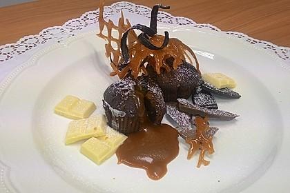 Schokoladenküchlein mit geschmolzenem Kern 2