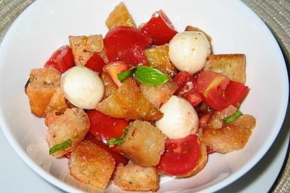 Tomaten - Brot - Salat
