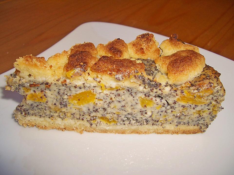 Mohn Streusel Mit Pudding Und Mandarinen Von Brisane Chefkoch De