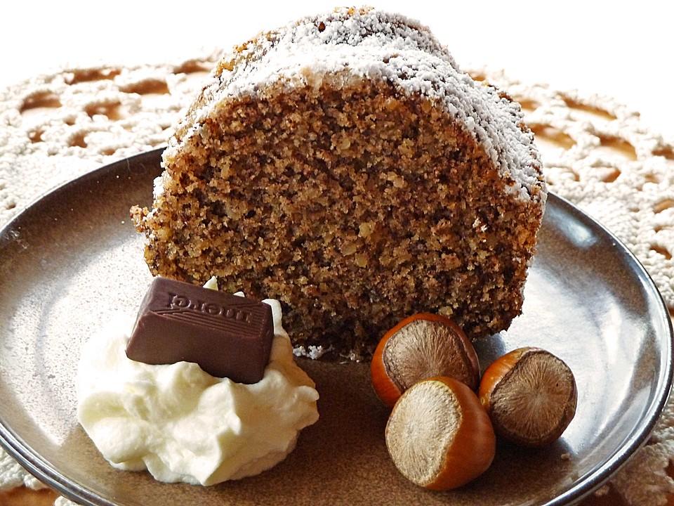 Schokoladen Nusskuchen Von Afred1 Chefkoch De