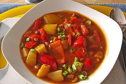 Illes Balkanfeuer - eine wärmende Suppe mit Rotwein 1