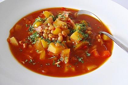 Illes Balkanfeuer - eine wärmende Suppe mit Rotwein 3