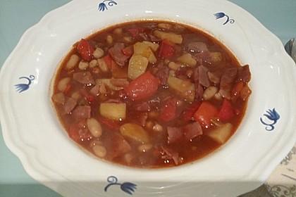 Illes Balkanfeuer - eine wärmende Suppe mit Rotwein 2