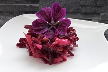 Rote Bete - Apfel - Salat (Bild)