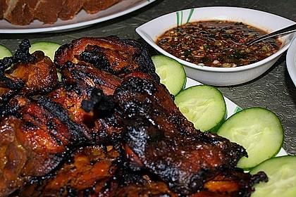 Gai Jang - Thailändisches gegrilltes Huhn 3
