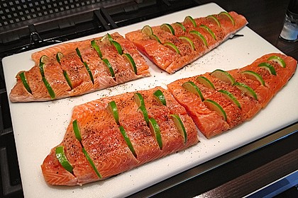Plank-grilled Lachs 6