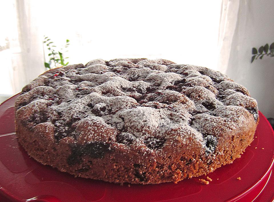 Franzis Kirsch Nuss Kuchen Von Fannylein Chefkoch