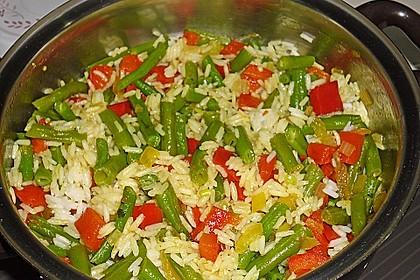 Reisgratin mit grünen Bohnen 6