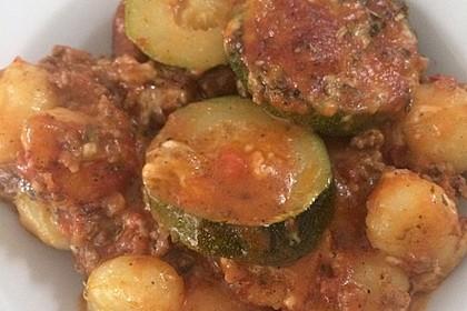Zucchini-Gnocchi-Auflauf 10