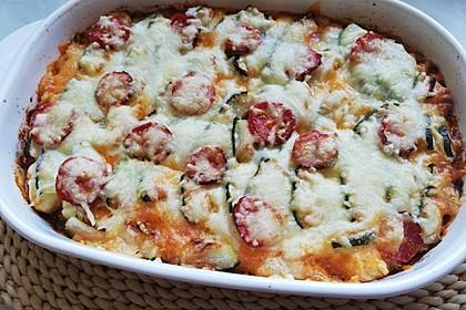 Zucchini-Gnocchi-Auflauf 2