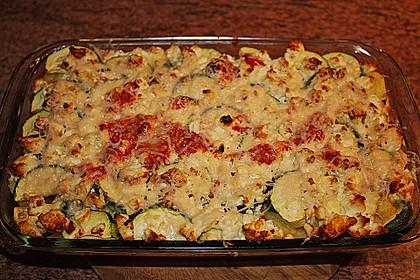 Zucchini-Gnocchi-Auflauf 1