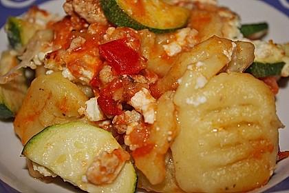 Zucchini-Gnocchi-Auflauf 3