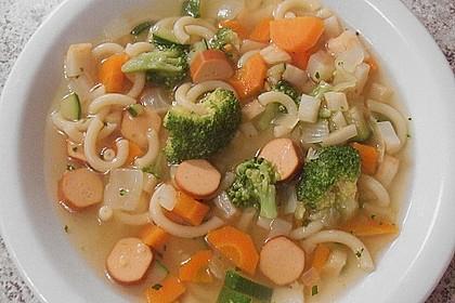 Einfache Gemüse - Nudel - Suppe 6