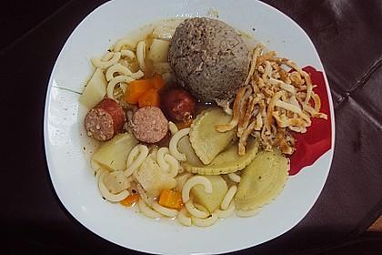 Einfache Gemüse - Nudel - Suppe 10