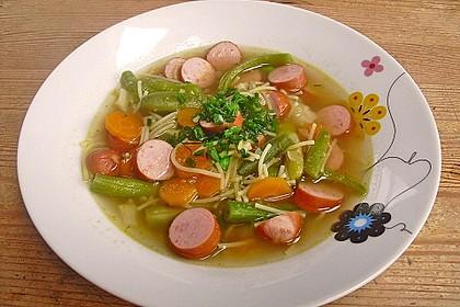 Einfache Gemüse - Nudel - Suppe 3