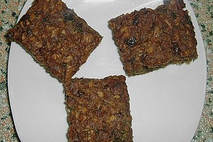 Müsliriegel mit Trockenpflaumen 9