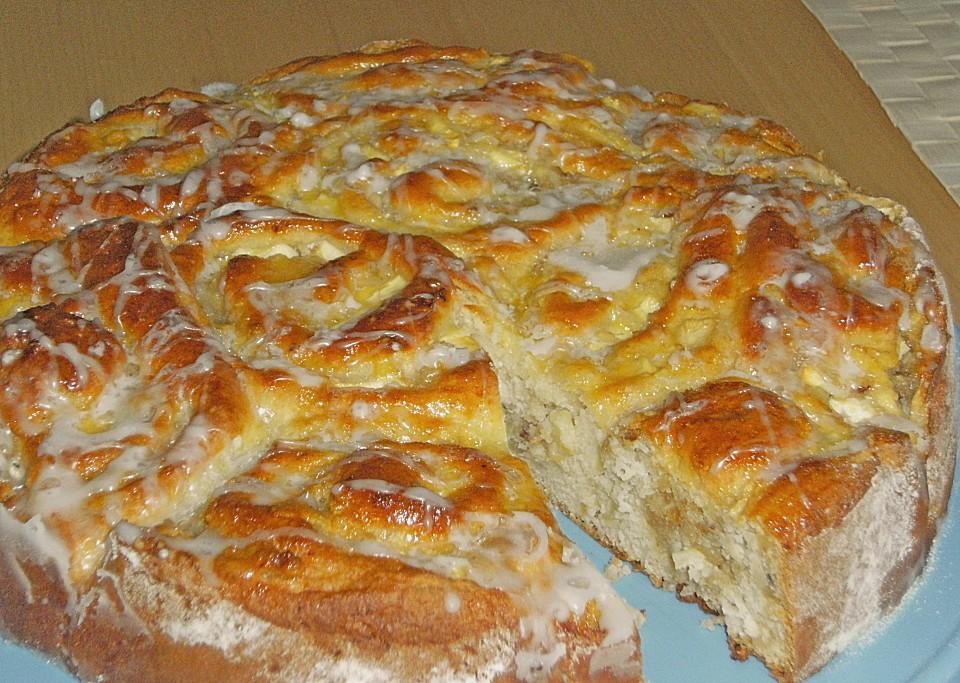 Apfel Marzipan Kuchen Von Buddelinchen Chefkoch De