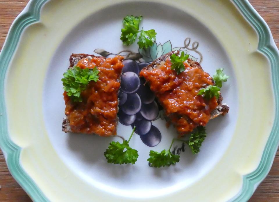 Türkischer Auberginen Brotaufstrich Von Raffaelar Chefkoch