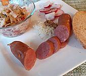 Krautsalat mit Gurke und Paprika (Bild)